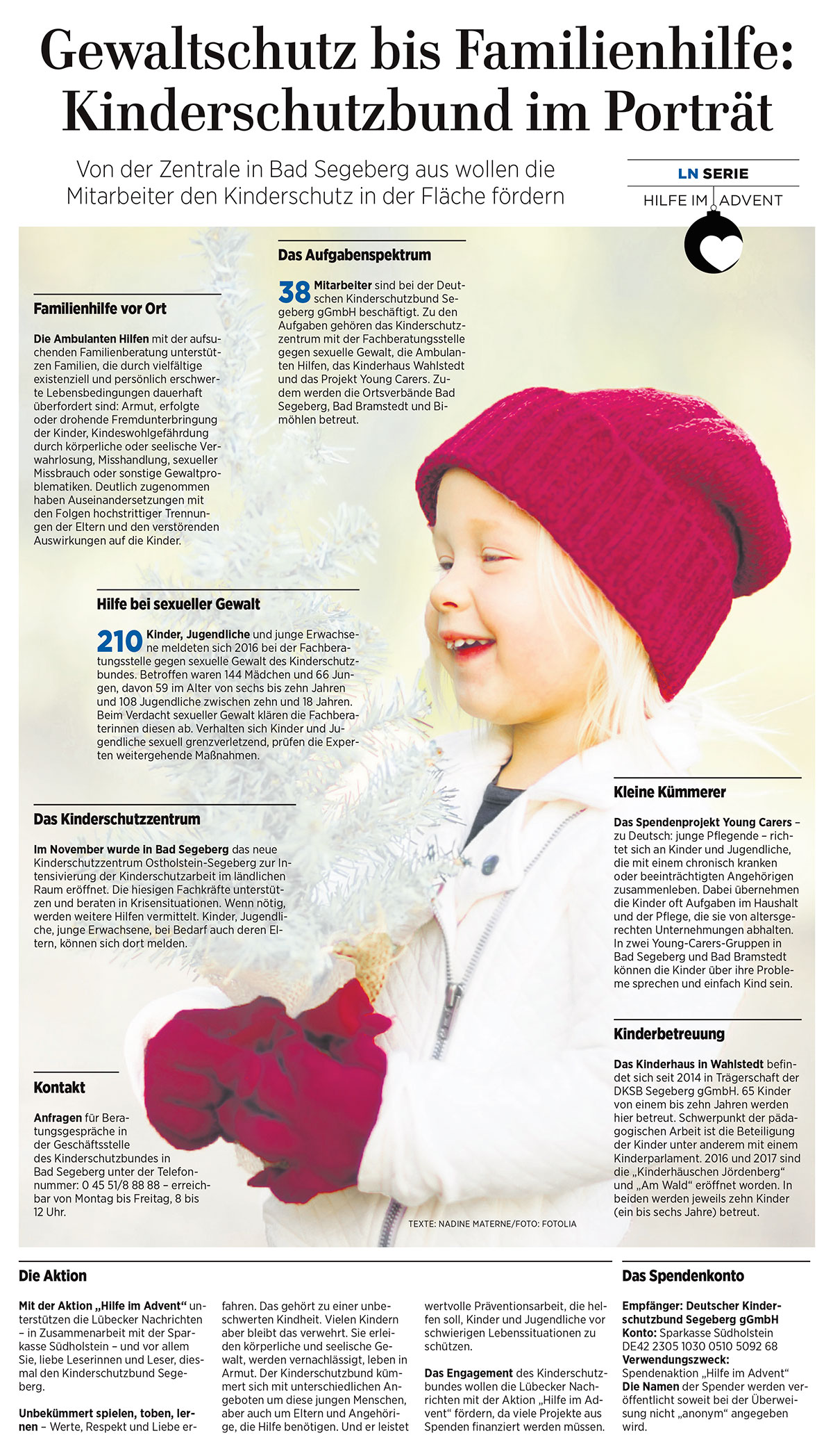 Gewaltschutz bis Familienhilfe: Kinderschutzbund im Porträt