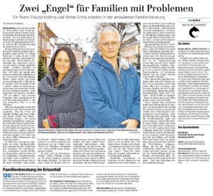 """Zwei """"Engel"""" für Familien mit Problemen"""