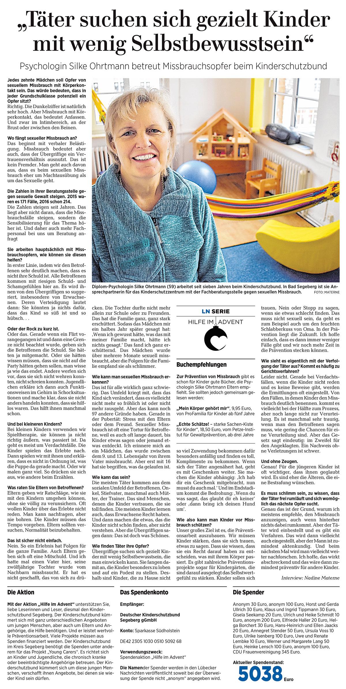 Täter suchen sich gezielt Kinder mit wenig Selbstbewusstsein